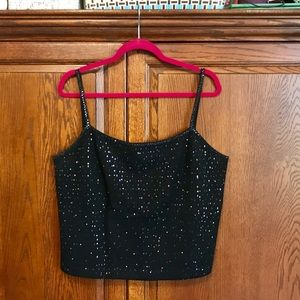 St. John Millennium Sequined Top